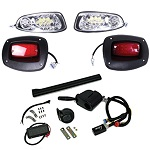 EZGO RXV Golf Cart 2008-2015 | GTW Premium LED Light Kit w/ Signals Horn