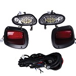 EZGO TXT T48 Golf Cart 2014-Up | GTW Premium LED Head Tail Light Kit