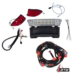 Club Car Precedent 2008.5-Up Electric Golf Cart | GTW LED Light Bar Kit