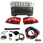 Club Car Precedent 2008.5-Up Electric Golf Cart | GTW LED Light Kit w/ Signals