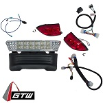 Club Car Precedent 2008.5-Up Gas Golf Cart | GTW LED Light Bar Kit