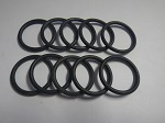 Yamaha G1 2-Cycle Gas Golf Cart Primary Clutch Sheave O-Ring Set of 10 93210-27458