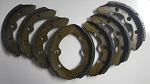 Club Car Golf Cart 1981-1994 Rear Wheel Brake Shoes | Pkg 8 | 1011463