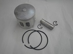 Yamaha G1 2-Cycle Gas Golf Cart Piston, Rings, Wrist Pin, Clips Kit | Std Bore