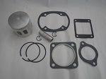 Yamaha G1 2-Cycle Gas Golf Cart Top End Piston Kit w/ Gaskets | .25mm Oversize