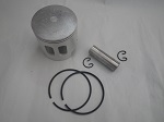 Yamaha G1 2-Cycle Gas Golf Cart Piston, Rings, Wrist Pin, Clips Kit | .25mm OS