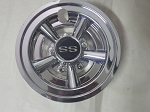 "Golf Cart EZGO Yamaha Club Car 8"" SS Chrome Wheel Cover Hub Cap"