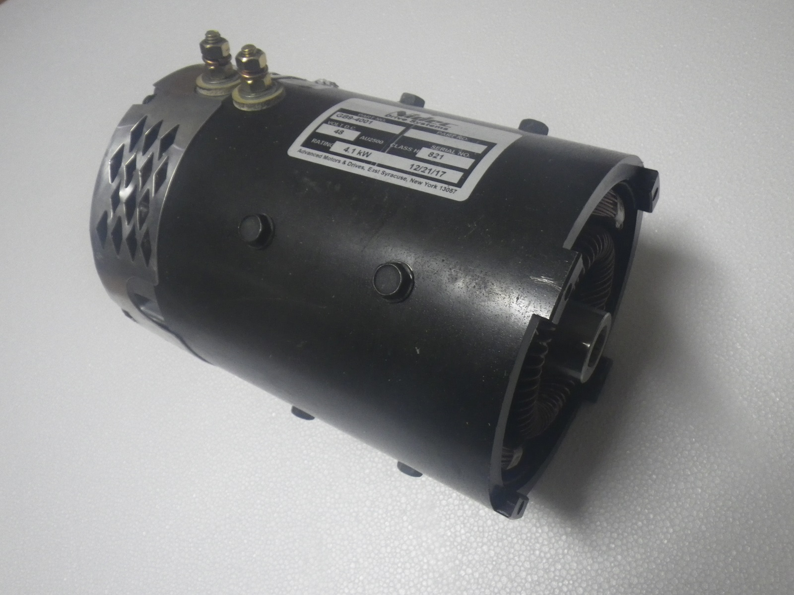Tomberlin Emerge Golf Cart 48 Volt 48V Replacement Electric Motor |  ZQS48-3 8-T