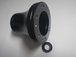 Black Steering Wheel Hub Adapter | Fits Club Car Precedent Golf Carts