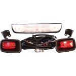 EZGO TXT Gas Golf Cart 1994-2013 Headlight Bar Light Kit with Tail Lights