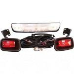EZGO TXT Electric Golf Cart 1994-2013 Headlight Bar Light Kit with Tail Lights