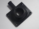 Yamaha G1 2-Cycle Gas Golf Cart Carburetor Mounting Joint Spacer | J24-13586-00