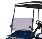 EZGO TXT Golf Cart 1994-2013 Tinted Folding Front Windshield Clip On