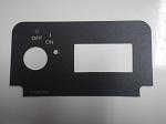 EZGO TXT 1994-Up Golf Cart Key Switch Plate Decal w/ Headlight Switch |71129-G01