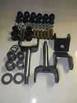 Club Car DS Golf Cart 1993-Up Front End Repair Kit w/ Bushings & King Pins