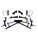 "Jakes Club Car DS Golf Cart 1982-2004.5 4"" Double A-arm Lift Kit 