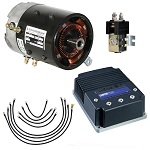 Club Car DS Precedent Golf Cart Motor Controller Conversion System | High Torque