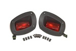 EZGO RXV Golf Cart 2008-2015 Premium Rear Tail Light Kit | Set of 2