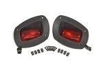 EZGO RXV Golf Cart 2008-2015 Premium Rear Tail Light Kit | Set of 2