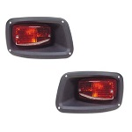 EZGO 1994-up TXT Golf Cart Premium Rear Tail Lights | Driver & Passenger Sides