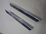 EZGO TXT Golf Cart 1994.5-Up Chrome Sill Plate Driver & Passenger Side Set