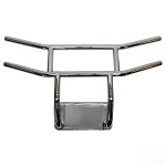 Yamaha Drive2 Golf Cart 2017-Up RHOX Front Bumper Brush Guard | Stainless Steel