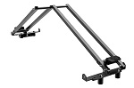 "Seizmik Armory X Rack for 51.5-55"" UTV Bed Holds Armory SST Gun Cases 