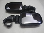 "Polaris Ranger 400 Seizmik Pursuit Side View Mirror Set 1.75"" Tube 