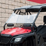 Honda Pioneer 500 2015-2018 Seizmik Hard Poly Full Vented Windshield | 25034