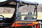 Seizmik Rear Dust Panel Window Polaris General 1000 | 04025