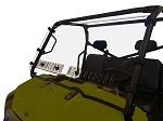 Spike Polaris Ranger 2010+ Fullsize Round Cage Vented Windshield | 77-8202A