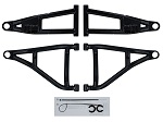 """SuperATV Honda Pioneer 1000 1.5"""" Front Forward Offset High Clearance A-Arms"""
