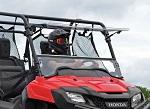 SuperATV Honda Pioneer 700 2014-Up | Scratch Resistant Flip Up Windshield