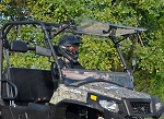 SuperATV Hisun Sector 2017-Up | Scratch Resistant Flip Up Windshield